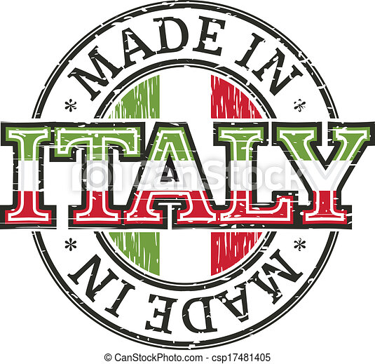 Made in italy stamp vector clipart search illustration for Made com italia