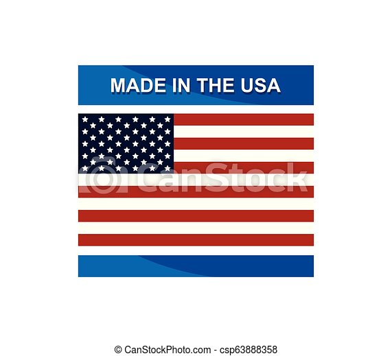 made in the usa - csp63888358