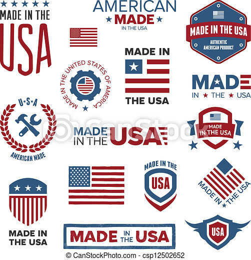 Made in the USA designs - csp12502652