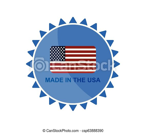 made in the usa - csp63888390