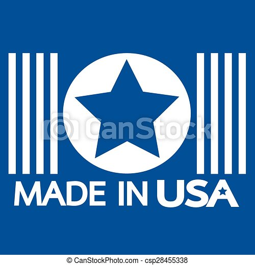 Made in the USA - csp28455338