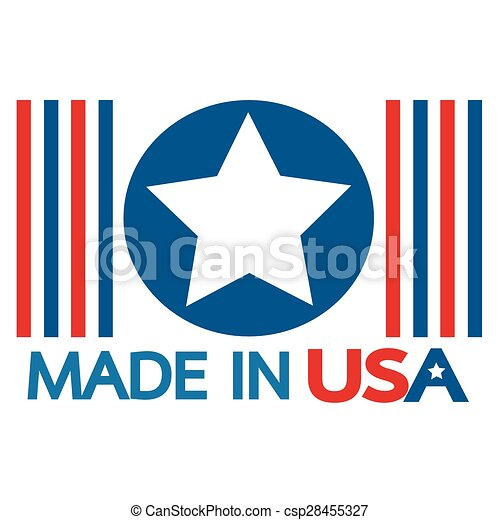 Made in the USA - csp28455327
