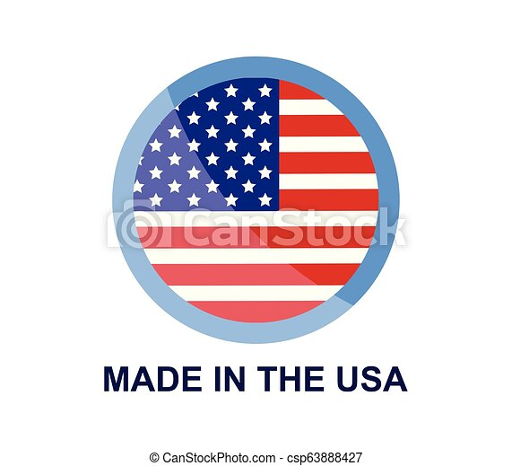 made in the usa - csp63888427