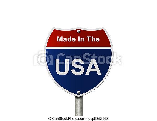 Made In The USA - csp8352963