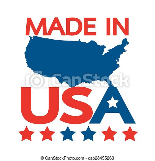 Made in USA - csp28455263
