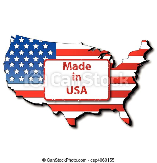 Made in USA - csp4060155