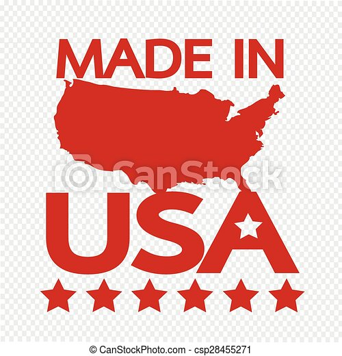 Made in USA - csp28455271