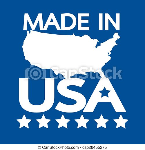Made in USA - csp28455275