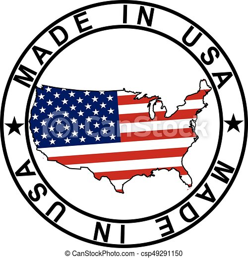 Made in USA stamp - csp49291150