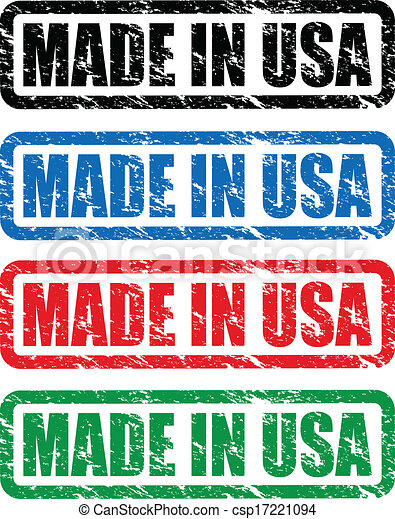 made in usa stamp - csp17221094
