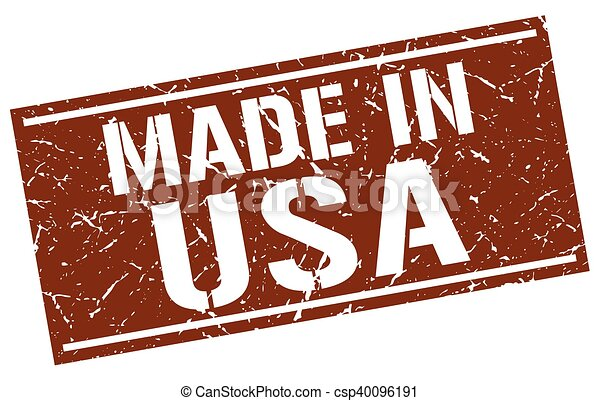 made in usa stamp - csp40096191