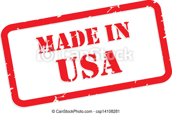 Made In USA Stamp - csp14108281