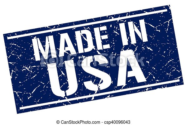 made in usa stamp - csp40096043