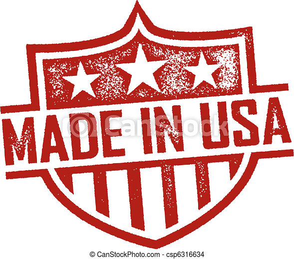 Made in USA Stamp - csp6316634