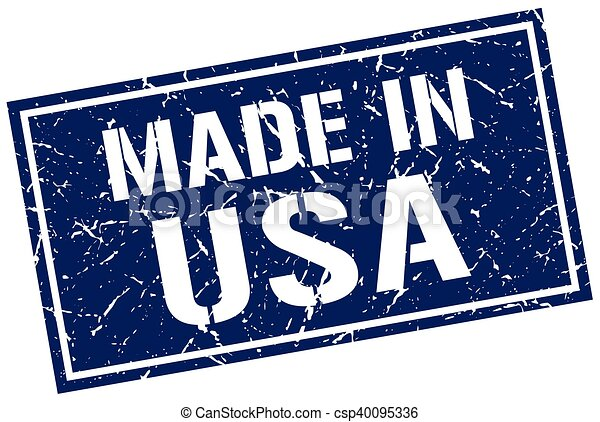 made in usa stamp - csp40095336