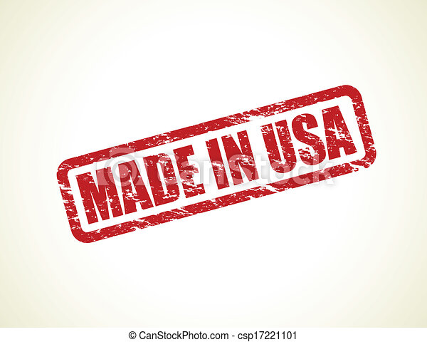 made in usa stamp - csp17221101