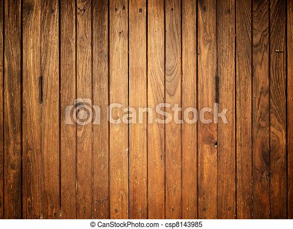 madeira, antigas, textura - csp8143985
