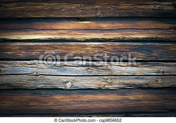 madeira, fundo - csp9856652