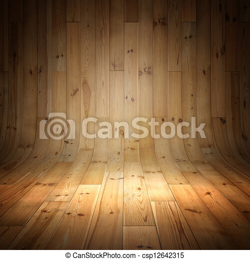madeira, fundo, parquet - csp12642315