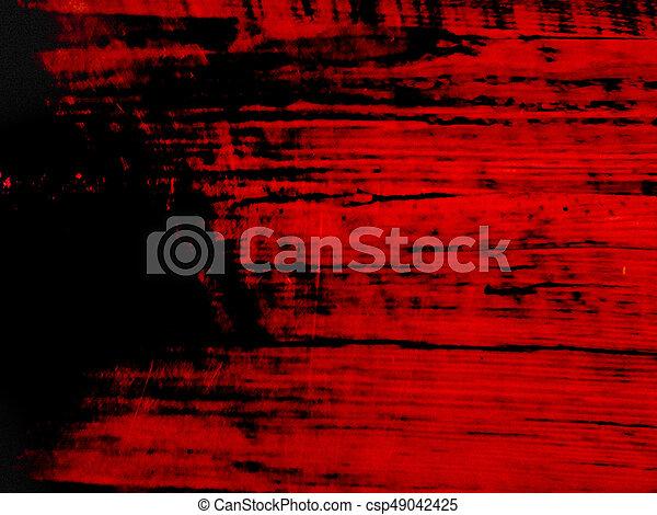 Madeira, preto vermelho, fundo. | CanStock