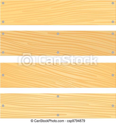 madeira, tábua - csp9794879