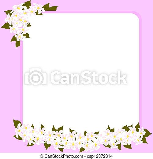 La tarjeta del día de la madre - csp12372314
