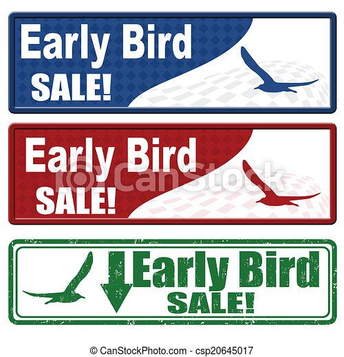 Cupones de venta de aves - csp20645017