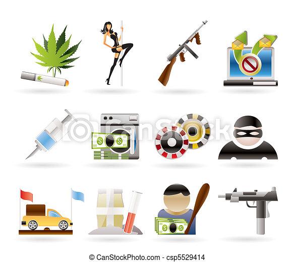 mafia and organized criminality  - csp5529414