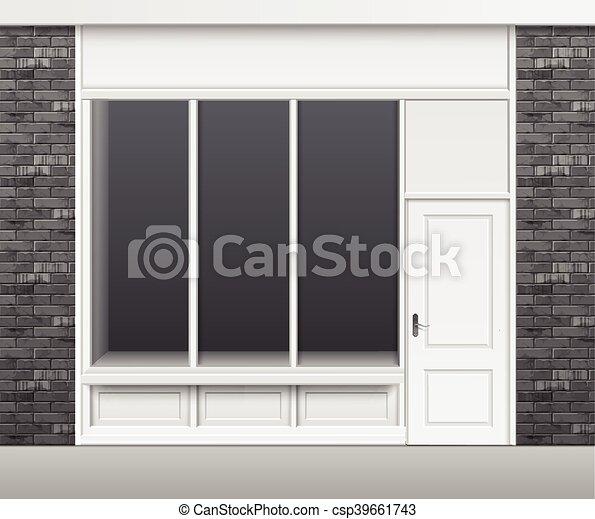 magasin porte vitrine fenetres devant magasin magasin vecteur eps rechercher des. Black Bedroom Furniture Sets. Home Design Ideas