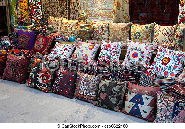magasin turquie tapis coussins istanbul photographie de stock rechercher des images et des. Black Bedroom Furniture Sets. Home Design Ideas
