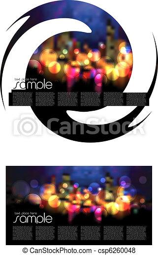 Magazine Layout Design - csp6260048