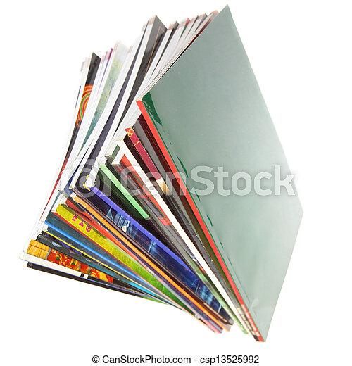 Magazines - csp13525992