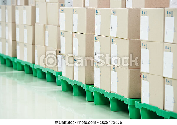magazzino, produzione, negozio - csp9473879