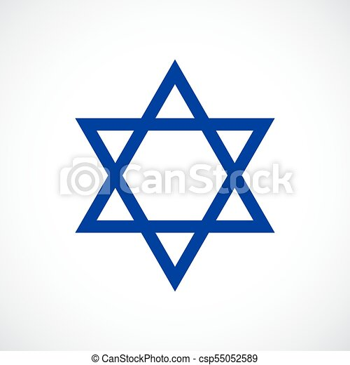 magen david vector star icon isolated on white background vector rh canstockphoto com
