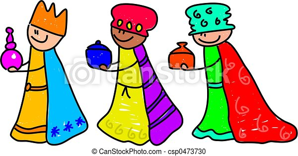 magi kids happy little kids dressed up as the three kings for the rh canstockphoto com we three kings clipart we three kings clipart