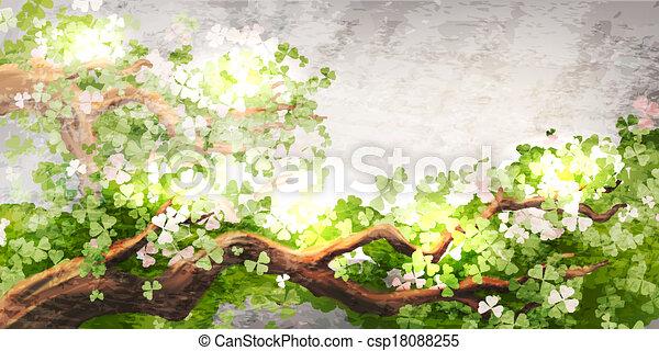 La rama mágica del árbol - csp18088255