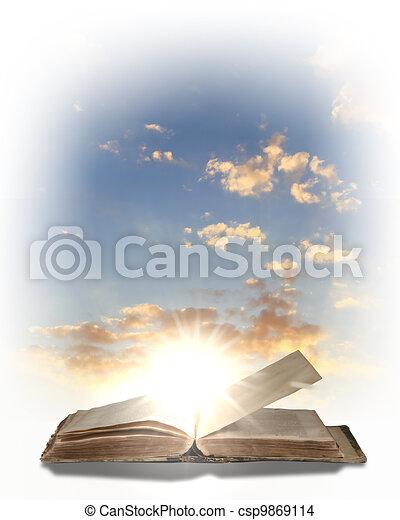 Magic book - csp9869114