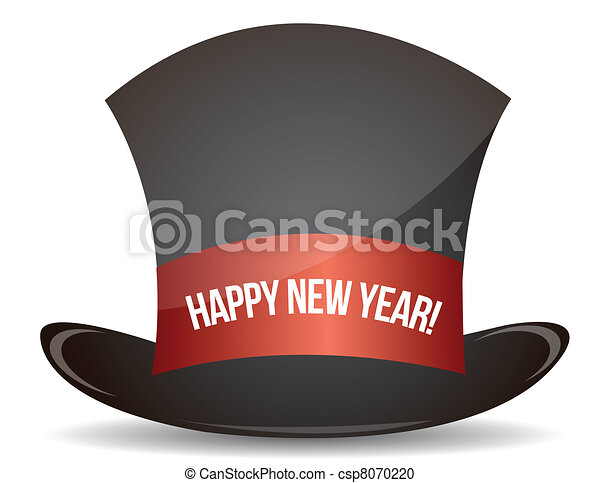 magic happy new year hat csp8070220