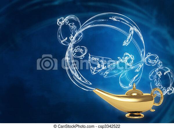 Magic lamp - csp3342522