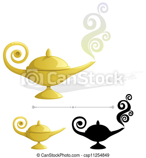 Magic Lamp - csp11254849