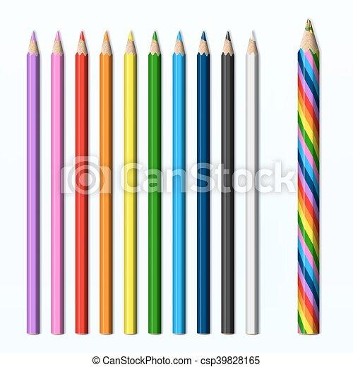 magic pencil colored pencils set magic pencil rainbow clip art rh canstockphoto ca clipart pencil free clip art pencil images