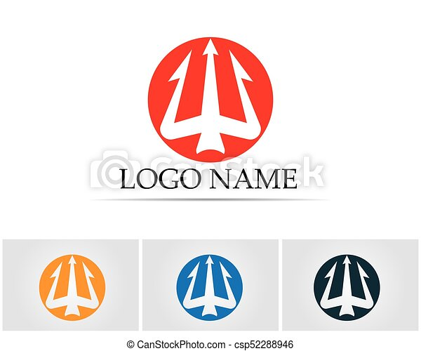 Magic Trident Logo And Symbols Template Vector Eps Vector Search