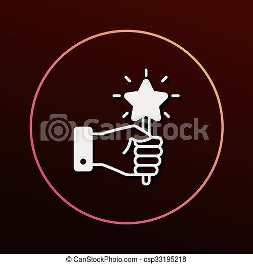 Magic Wand Icon Vector Clip Art Search Illustration Drawings And