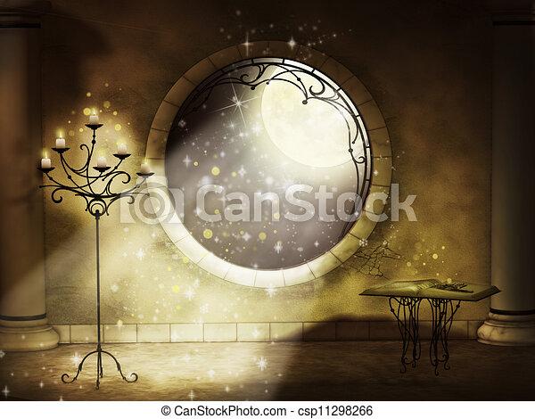 magical gothic night - csp11298266