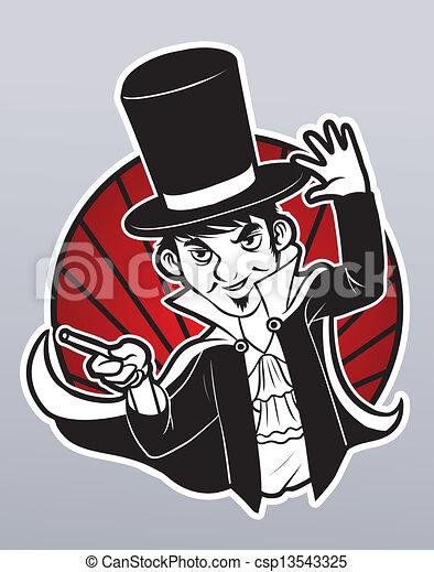 Magician - csp13543325