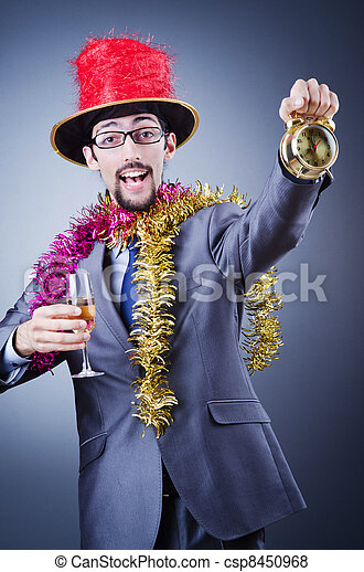 Magician in the business suit - csp8450968