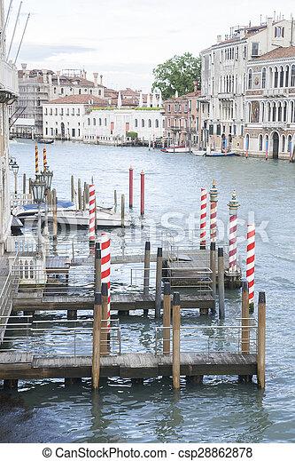 Gran canal, Venecia, Italia - csp28862878