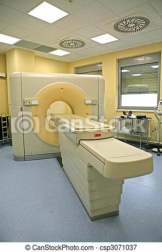 Magnetic resonance imaging scanner - csp3071037