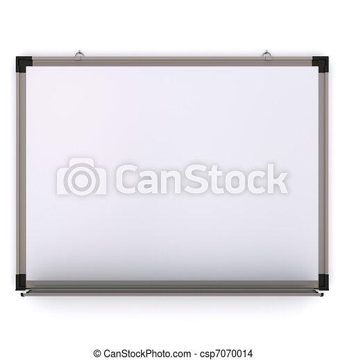 magnetico, isolato, wall., interpretazione, asse, bianco, 3d - csp7070014