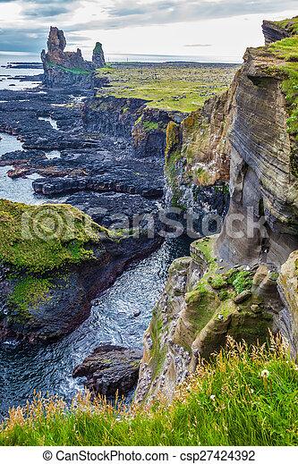 Magnificent ancient Skerries - csp27424392